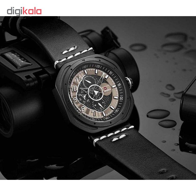 کد تخفیف                                      ساعت مچی عقربه ای مردانه نیوی فورس مدل NF9141M / CH-ME-SE