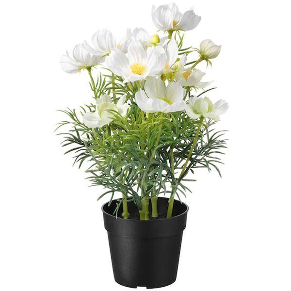 گلدان به همراه گل مصنوعی ایکیا مدل Fejka 20419558