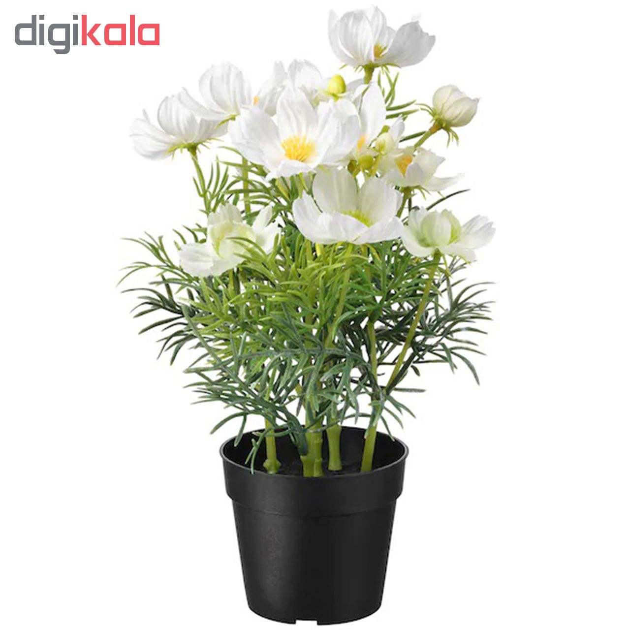 گلدان به همراه گل مصنوعی ایکیا مدل Fejka 20419558 main 1 1
