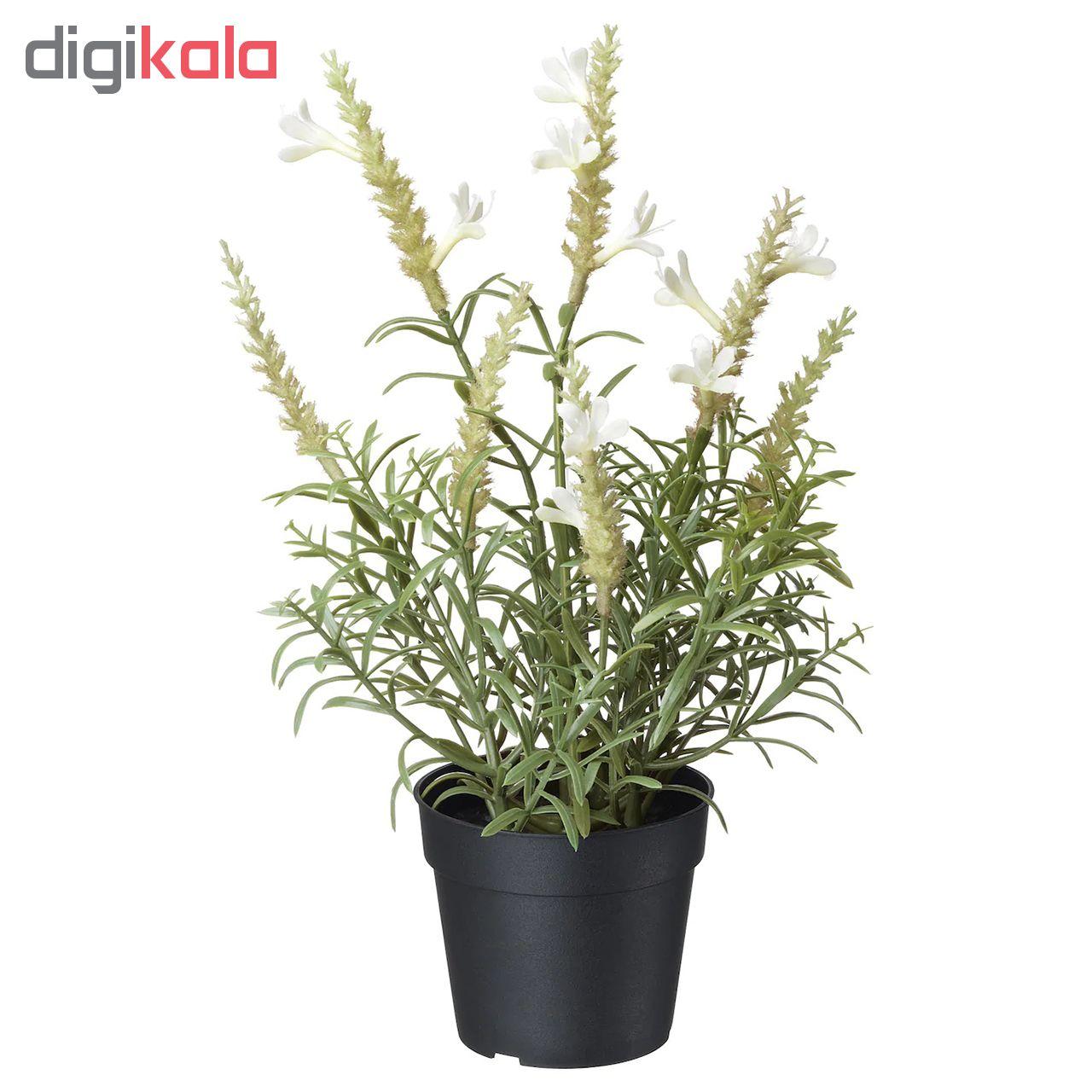 گلدان به همراه گل مصنوعی ایکیا مدل Fejka 80429516 main 1 1
