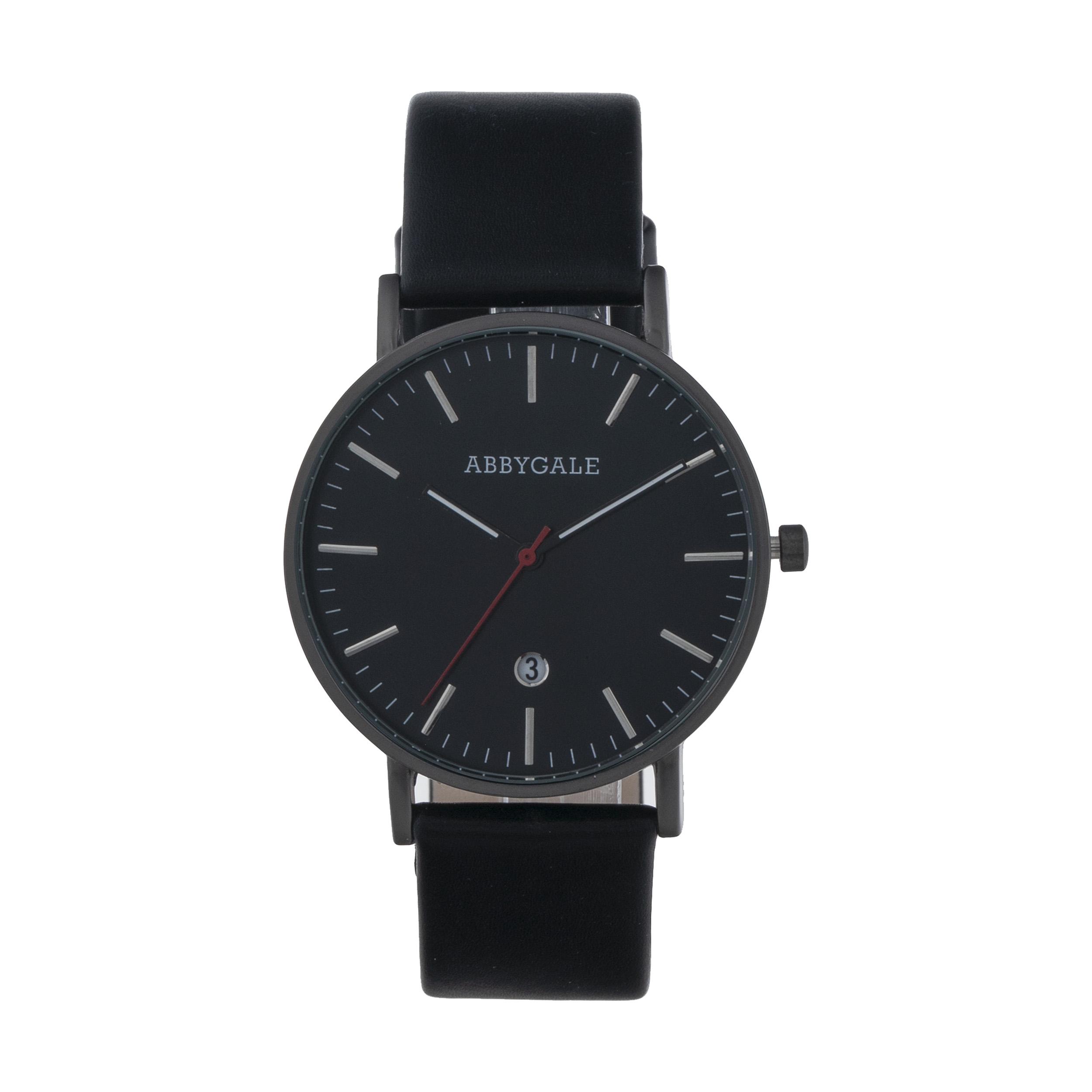 ساعت مچی عقربه ای مردانه ابیگیل مدل BLACK 41