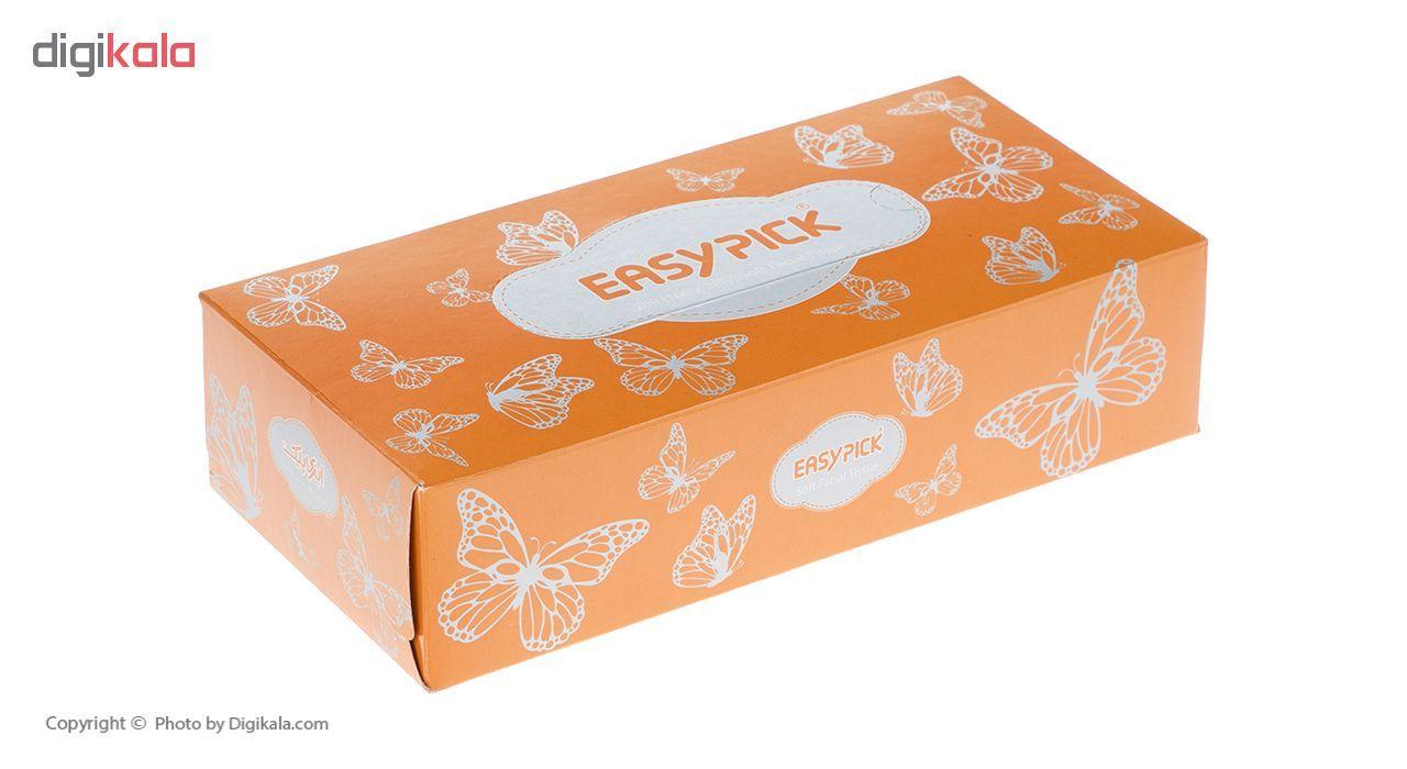 دستمال کاغذی 100 برگ ایزی پیک مدل Butterfly بسته 4 عددی main 1 5