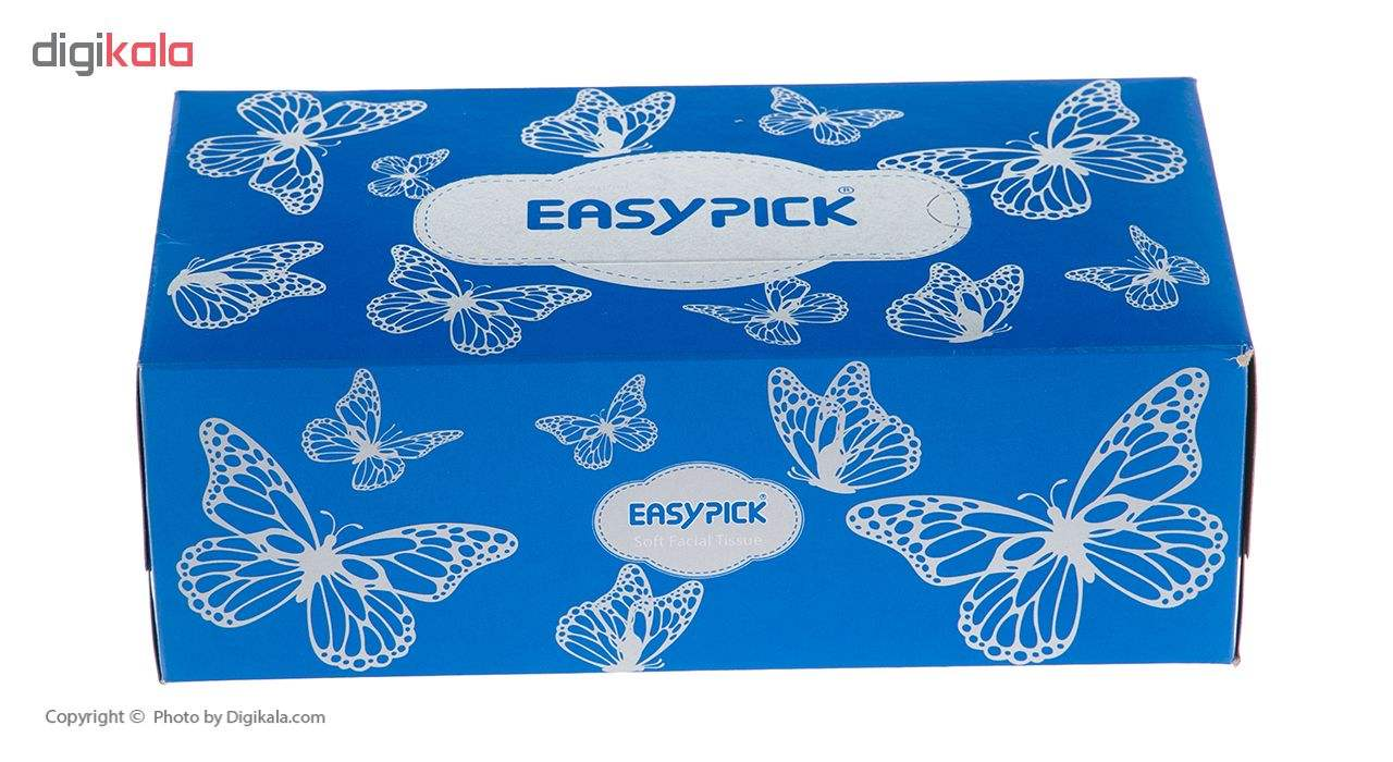 دستمال کاغذی 150 برگ ایزی پیک مدل Butterfly main 1 2