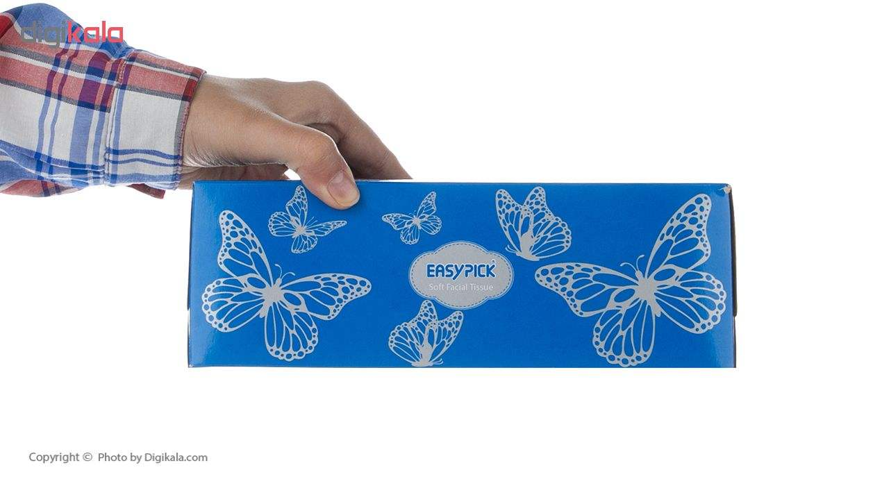 دستمال کاغذی 150 برگ ایزی پیک مدل Butterfly main 1 4