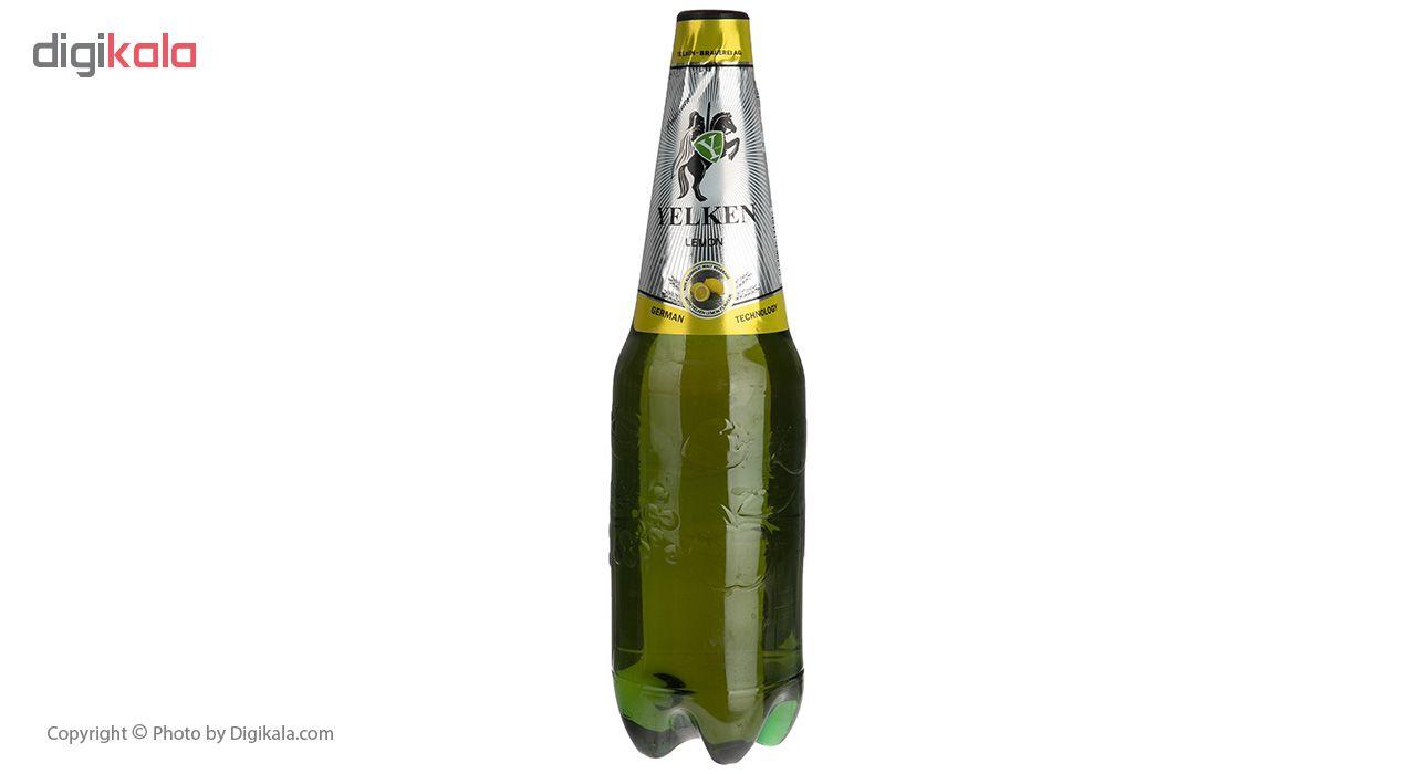 نوشیدنی مالت لیمویی یلکن مقدار 1 لیتر