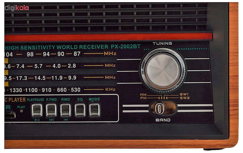 رادیو پوکسین مدل PX-2002BT main 1 8