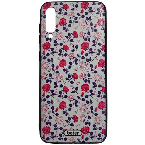 کاور طرح Flower کد 0102 مناسب برای گوشی موبایل سامسونگ Galaxy A50