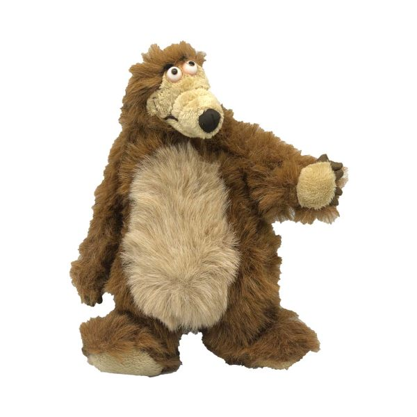 عروسک طرح خرس میشا و ماشا کد 67 ارتفاع 30 سانتی متر
