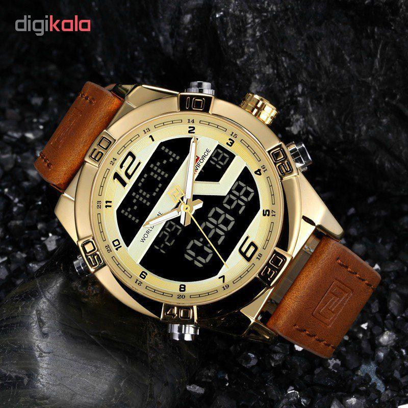 ساعت مچی دیجیتال مردانه نیوی فورس مدل NF9128M /GHAH-TA