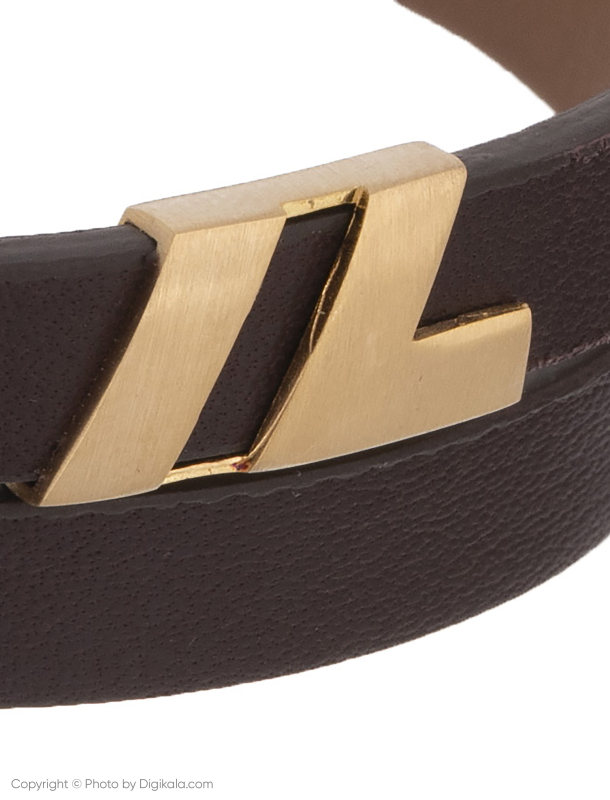 دستبند طلا 18 عیار مردانه تاج درسا مدل 6655