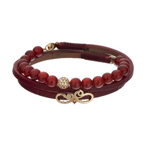 دستبند طلا 18 عیار زنانه تاج درسا مدل 3913