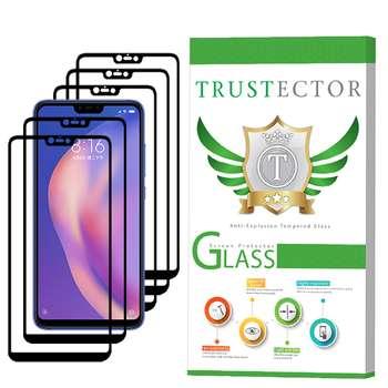 محافظ صفحه نمایش تراستکتور مدل GSS مناسب برای گوشی موبایل شیائومی Mi 8 Lite بسته 5 عددی