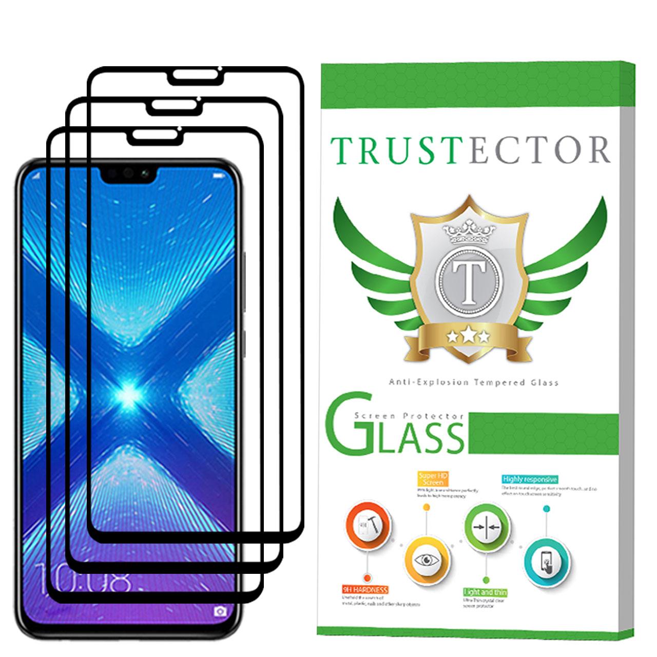 محافظ صفحه نمایش تراستکتور مدل GSS مناسب برای گوشی موبایل آنر 8X بسته 3 عددی thumb