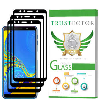 محافظ صفحه نمایش تراستکتور مدل GSS مناسب برای گوشی موبایل سامسونگ Galaxy A7 2018 بسته 3 عددی