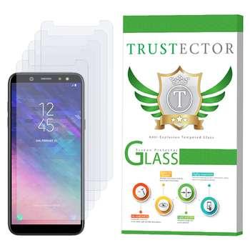 محافظ صفحه نمایش تراستکتور مدل GLS مناسب برای گوشی موبایل سامسونگ Galaxy A6 2018 بسته پنج عددی