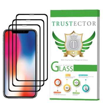 محافظ صفحه نمایش تراستکتور مدل GSS مناسب برای گوشی موبایل اپل iPhone X بسته 3 عددی