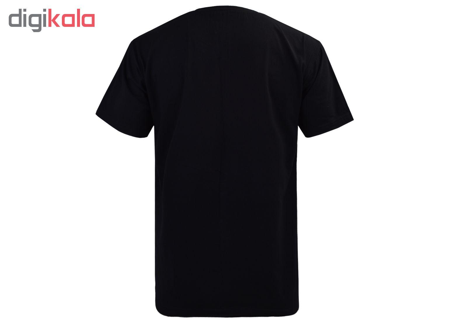 تی شرت آستین کوتاه مردانه مدل T16