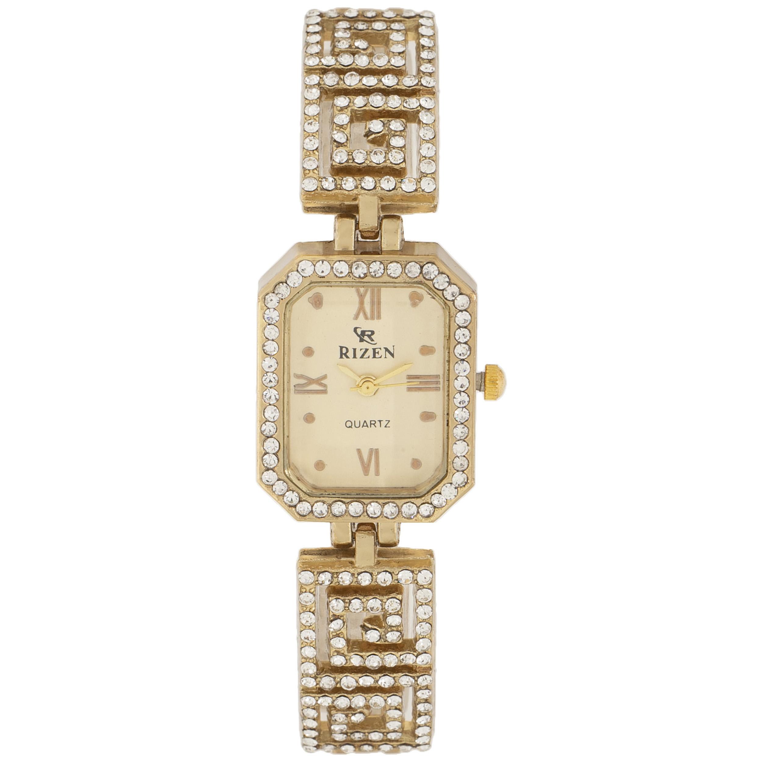 ساعت مچی عقربه ای زنانه ریزن مدل RZ-0418