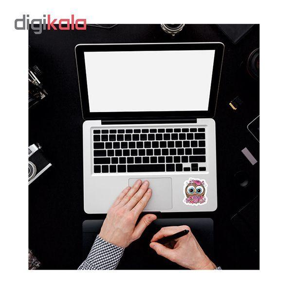 استیکر لپ تاپ طرح جغد کد 01 main 1 2