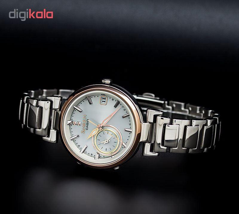 ساعت مچی عقربه ای زنانه کاسیو مدل SHB-100SG-7ADR