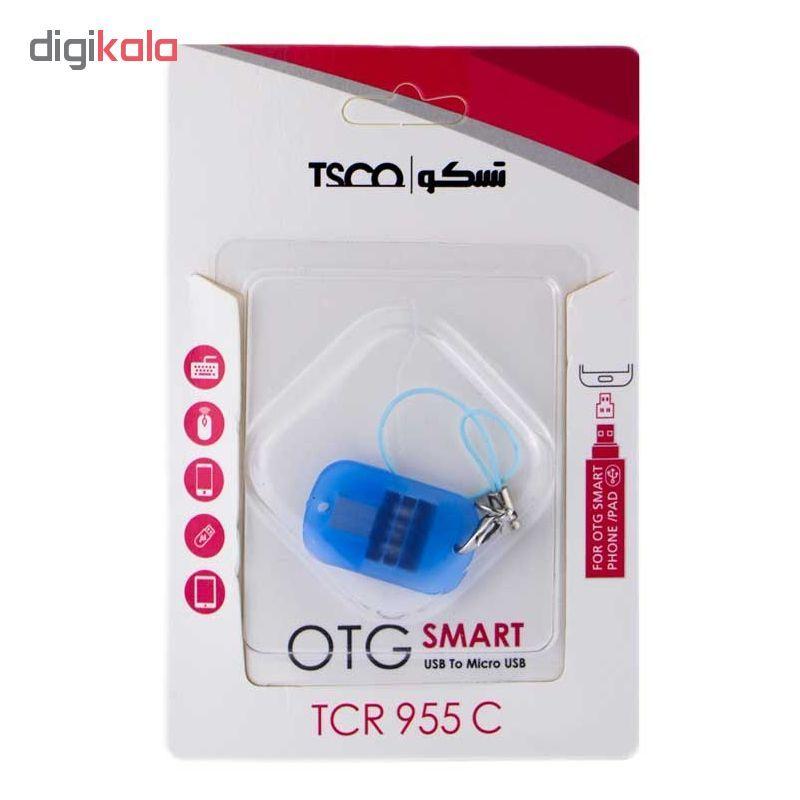 مبدل OTG microUSB تسکو مدل TCR 955C main 1 2