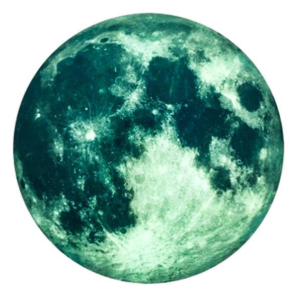 استیکر دیواری طرح  ماه