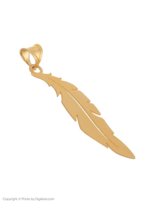 آویز گردنبند طلا 18 عیار زنانه میو گلد مدل N091