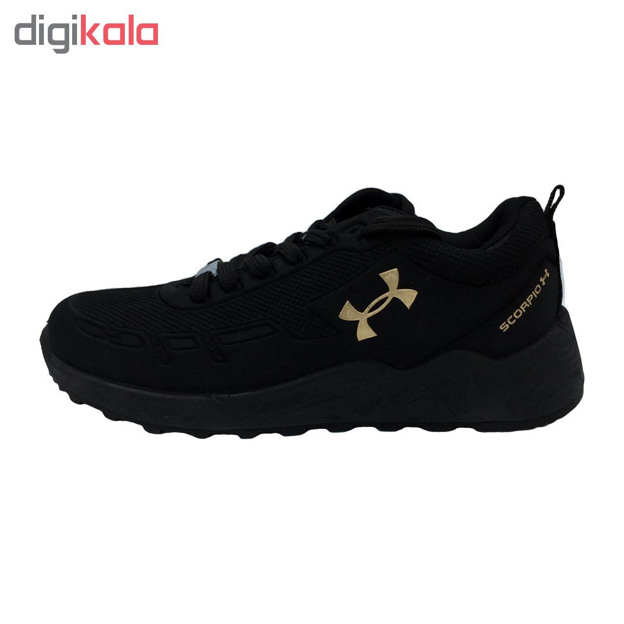 کفش مخصوص پیاده رویزنانه مدل az-zn رنگ مشکی   غیر اصل