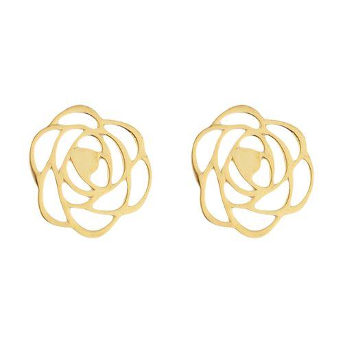 گوشواره طلا 18 عیار زنانه میو استار مدل EG19