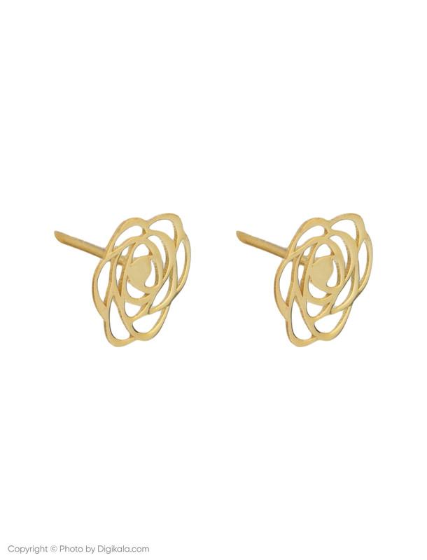 گوشواره طلا 18 عیار زنانه میو گلد مدل EG19