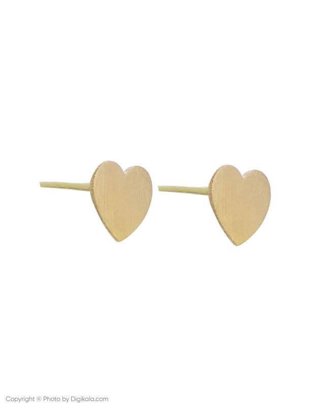 گوشواره طلا 18 عیار زنانه میو گلد مدل EG11