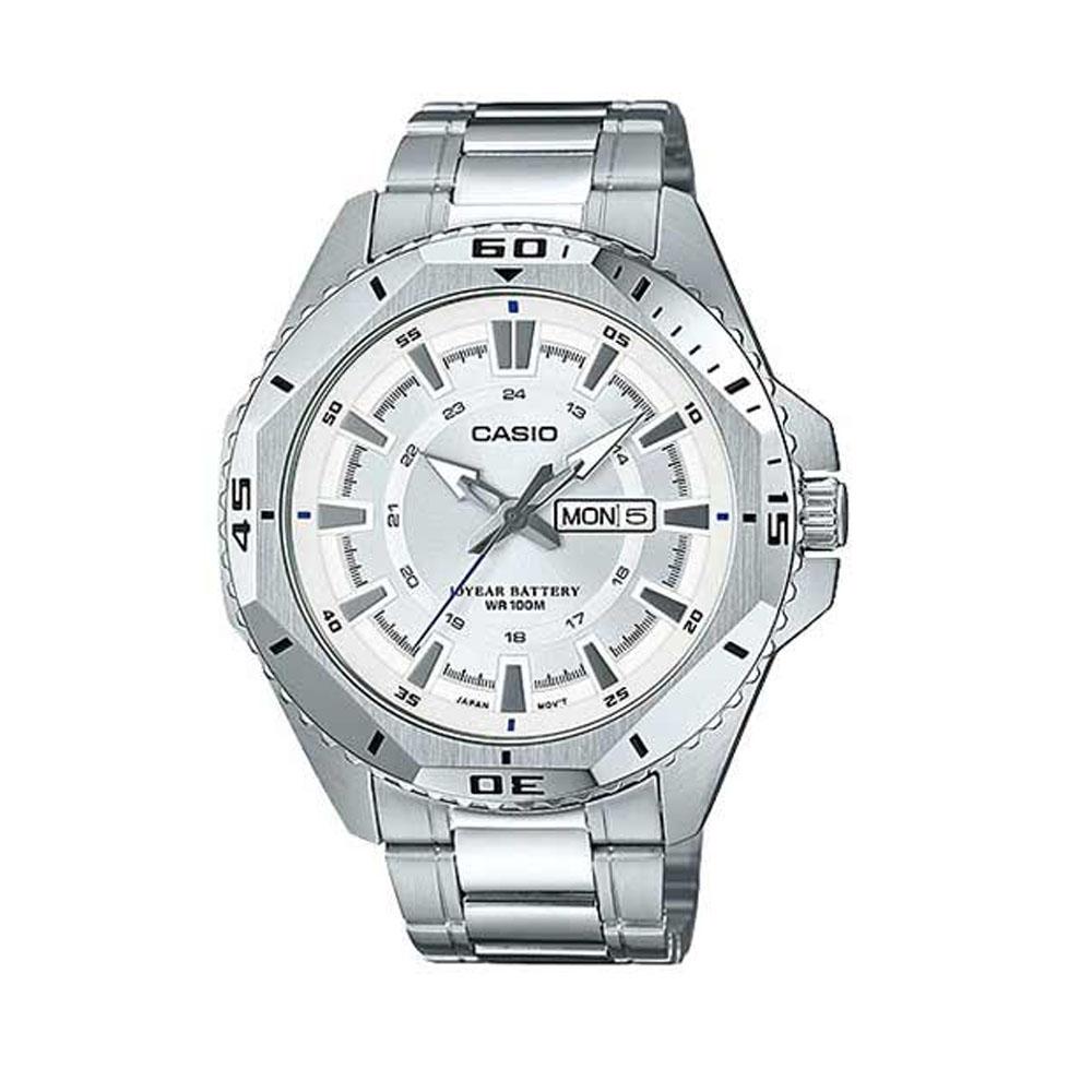 ساعت مچی عقربه ای مردانه کاسیو مدل MTD-1085D-7AVDF