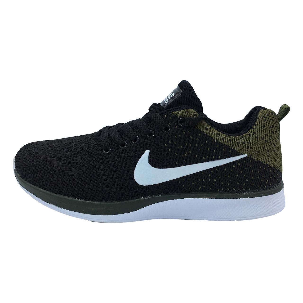 کفش مخصوص پیاده روی مردانه مدل Nb-js رنگ یشمی