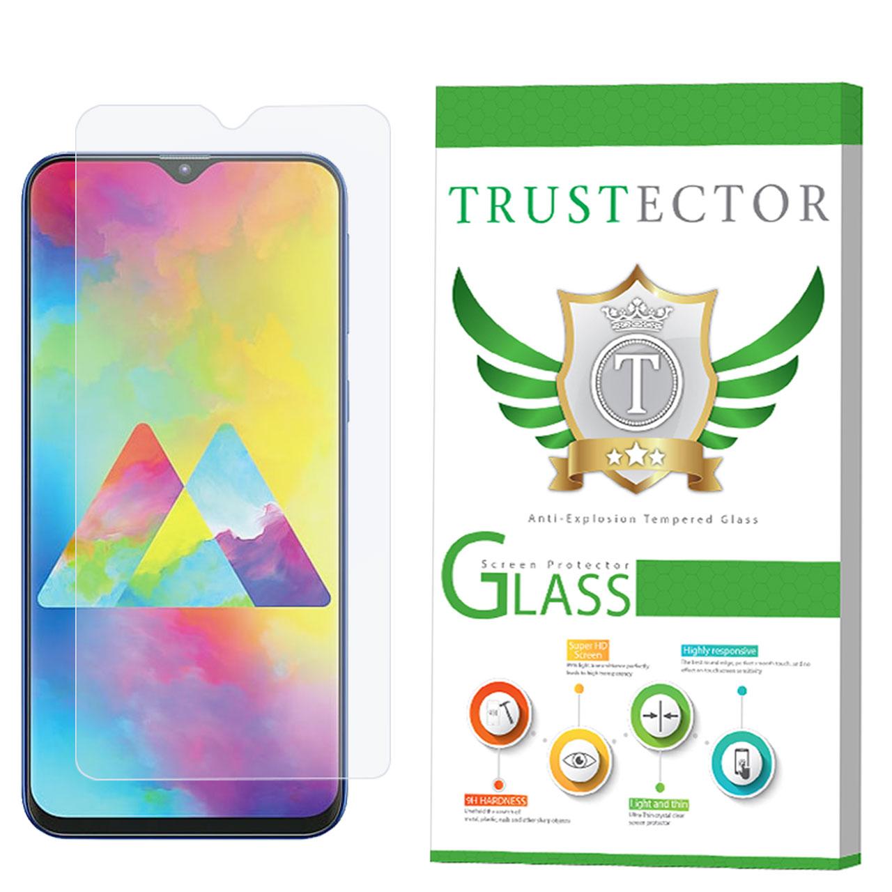 محافظ صفحه نمایش تراستکتور مدل GLS مناسب برای گوشی موبایل سامسونگ Galaxy M20