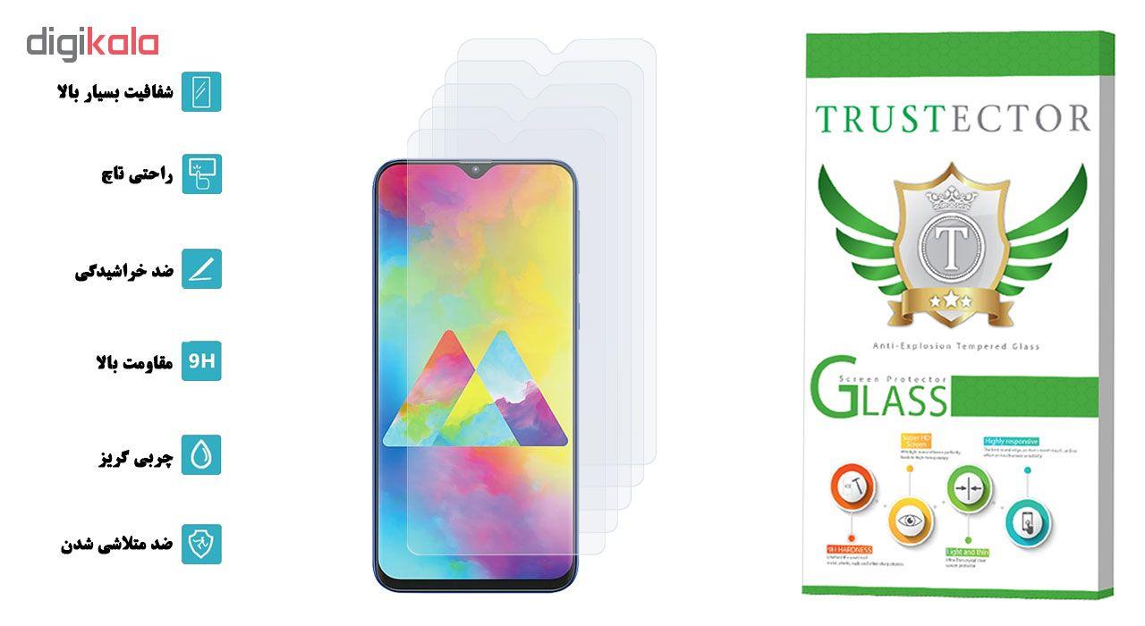 محافظ صفحه نمایش تراستکتور مدل GLS مناسب برای گوشی موبایل سامسونگ Galaxy M20 بسته 5 عددی main 1 2