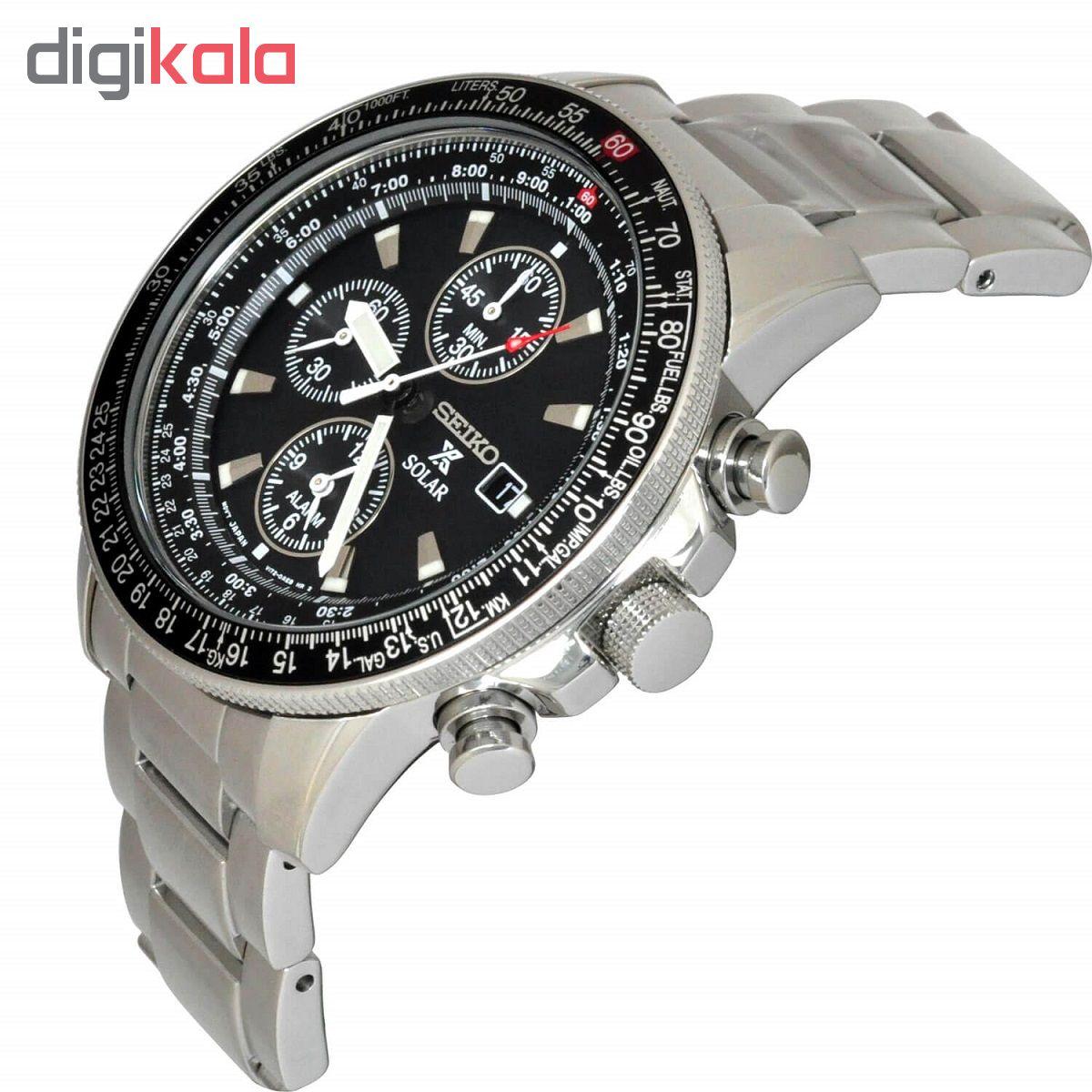ساعت مچی عقربه ای مردانه سیکو  مدل  SSC009P1