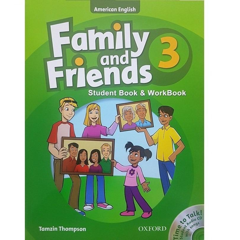 خرید                      کتاب زبان Family And Friends 3 - Student Book & WorkBook اثر Tamzin Thompson انتشارات Oxford