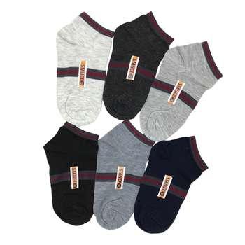 جوراب مردانه کد 1155 مجموعه 6 عددی