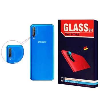 محافظ لنز دوربین Hard and thick مدل F-01 مناسب برای گوشی موبایل سامسونگ Galaxy A50 بسته 2 عددی