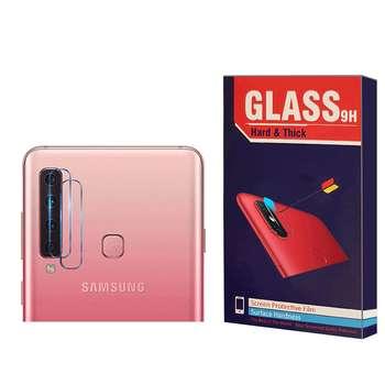 محافظ لنز دوربین Hard and thick مدل F-01 مناسب برای گوشی موبایل سامسونگ Galaxy A9 2018 بسته 2 عددی