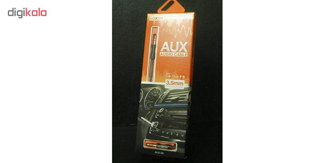 کابل AUX موکسوم مدل AX-09 طول 1 متر main 1 5