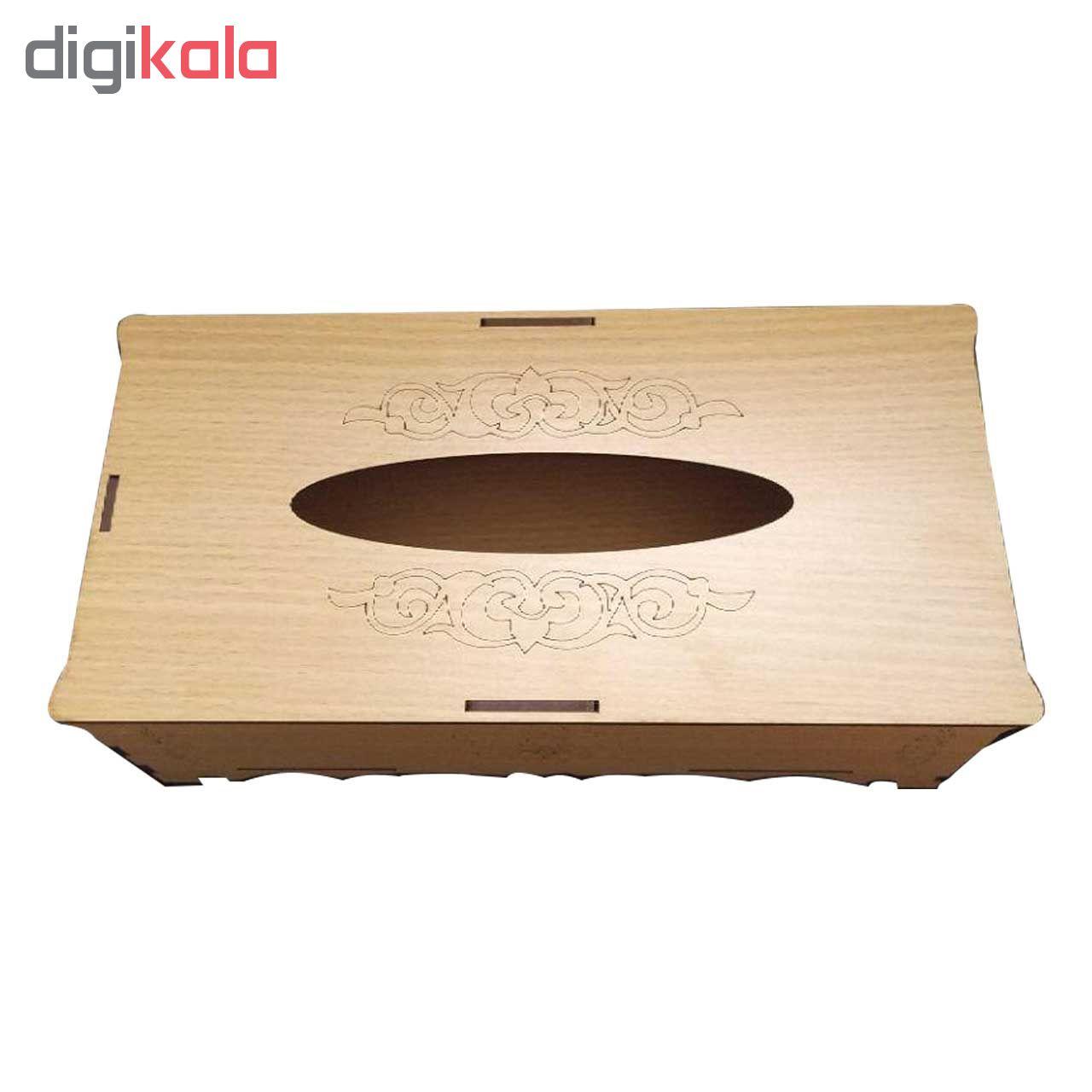 جعبه دستمال کاغذی مدلpd_007