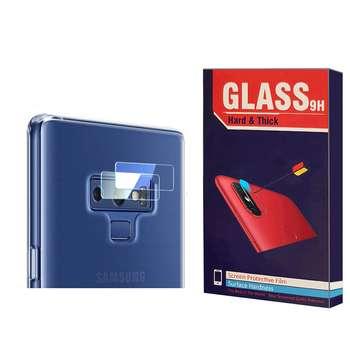 محافظ لنز دوربین Hard and thick مدل F-01 مناسب برای گوشی موبایل سامسونگ Galaxy note 9 بسته 2 عددی