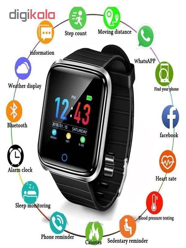 ساعت هوشمند مدل Smrt-d28 به همراه بند main 1 3