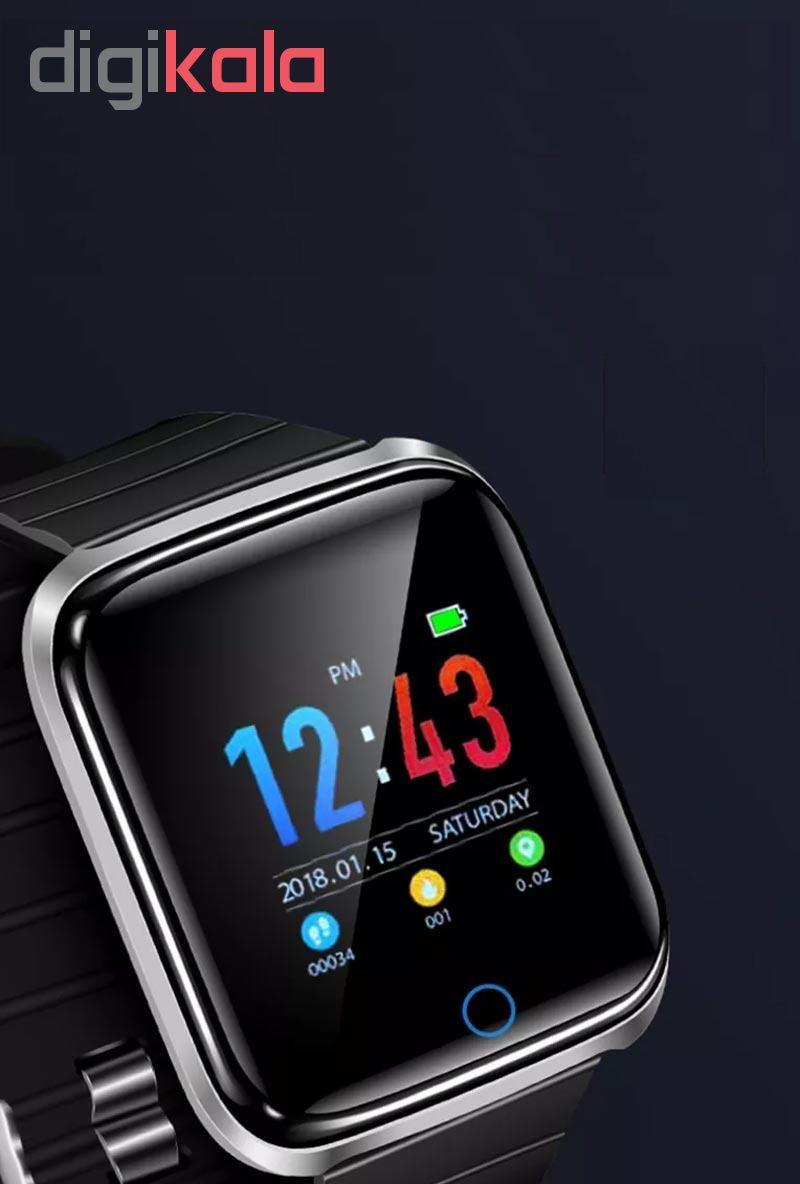 ساعت هوشمند مدل Smrt-d28 به همراه بند main 1 4