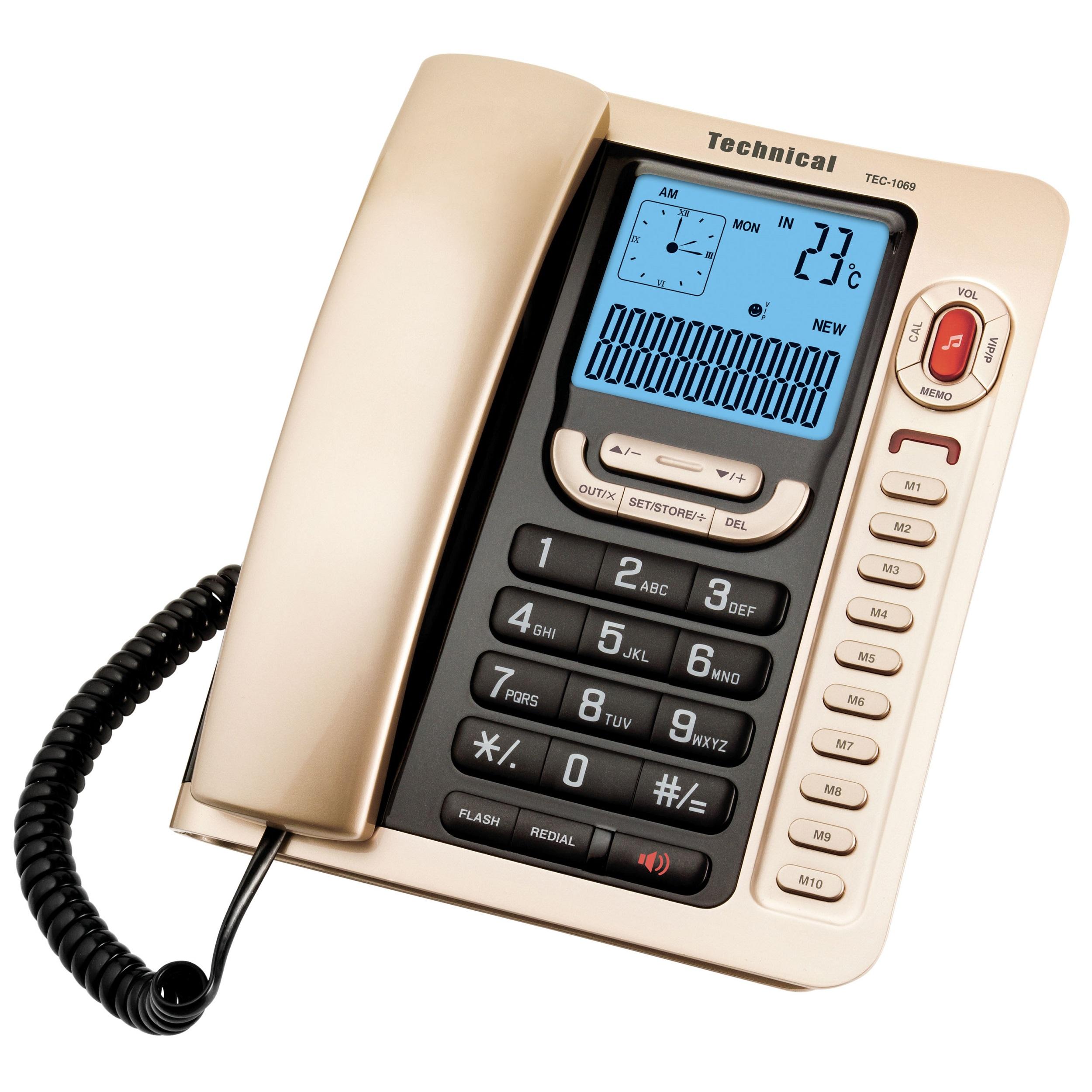 تلفن تکنیکال مدل TEC-1069