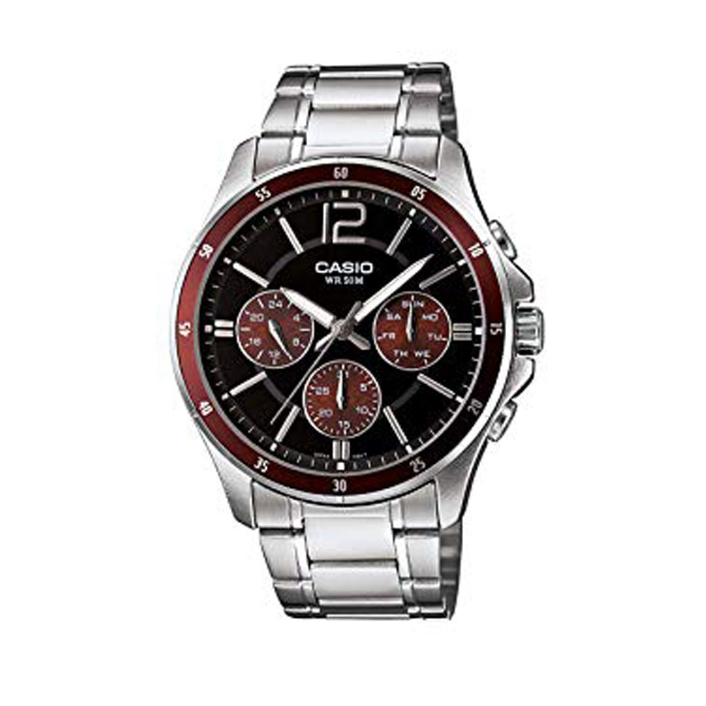 ساعت  کاسیو مدل MTP-1374D-5AVDF 1