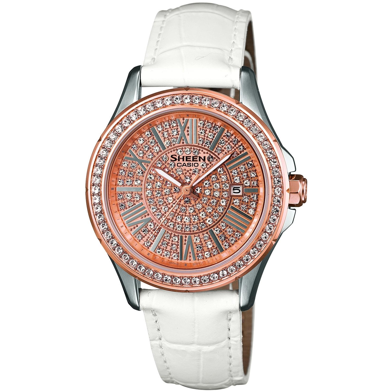 ساعت مچی عقربه ای زنانه کاسیو مدل SHE-4510GL-9AUDR