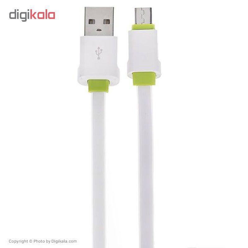 کابل تبدیل USB به microUSB الدینیو مدل LS-073U طول 0.3 متر main 1 1