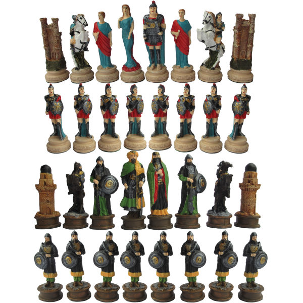 مهره شطرنج مدل CH01 مجموعه 32 عددی